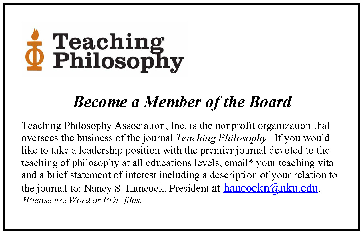 philosophy of education A teaching philosophy statement can help educators focus on what matters,  summarize their strengths and re-energize their commitment to the.